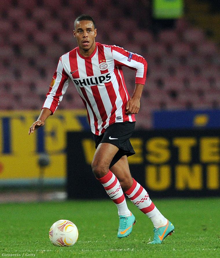 Ez már 2012, Mathias Jørgensen ekkor a PSV Eindhoven játékosa volt