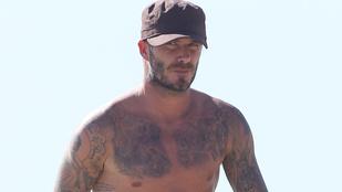 Íme, David Beckham tetkótérképe