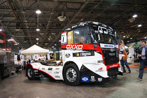 Kiss Norbi kamionja