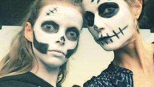 Gwyneth Paltrow a lányával ijesztgeti a népet