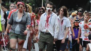 Elég jól sikerült a sydneyi zombiséta