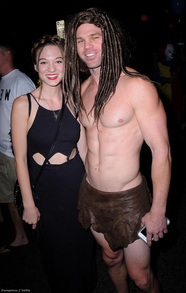 Ez pedig Nyugat-Hollywood évi rendes Halloween-karneválja