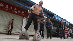 Wáháhá, kézműves lábsúly Kínából!