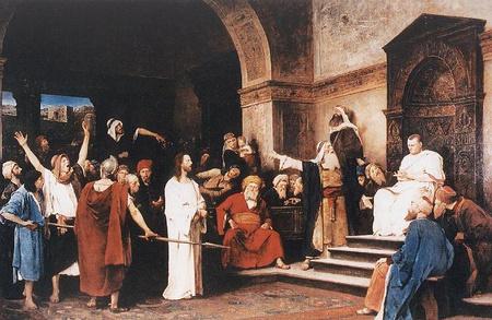 krisztus pilatus elott