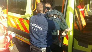 Életveszélyesen megsérült a hasba szúrt mentő