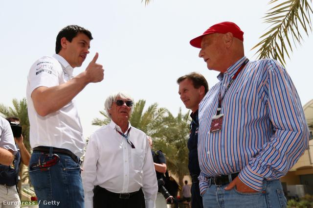 Wolff és Lauda: egyre távolabb egymástól