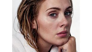 Azt hazudják, hogy ezen a képen Adele sminktelen