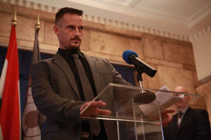 Fenyő Iván színész a Veszettek című film egyik jelenetében