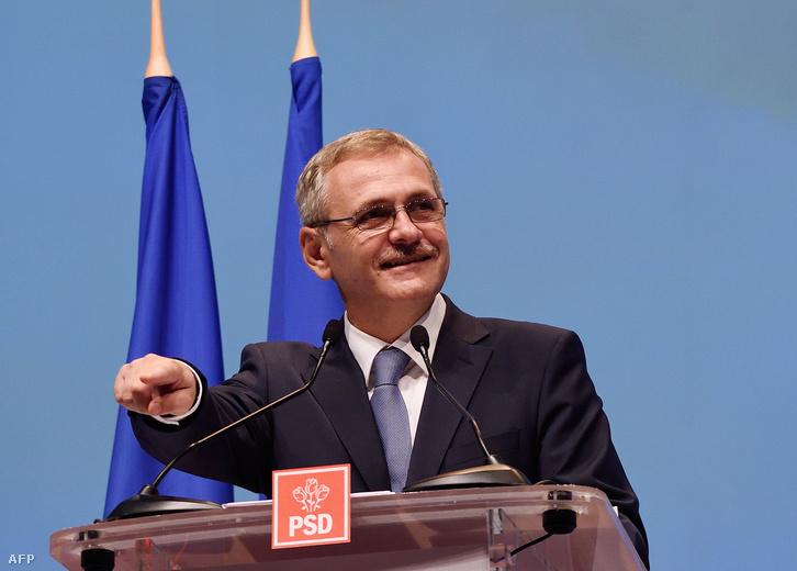 Liviu Dragnea a Szociáldemokrata Párt elnöke.
