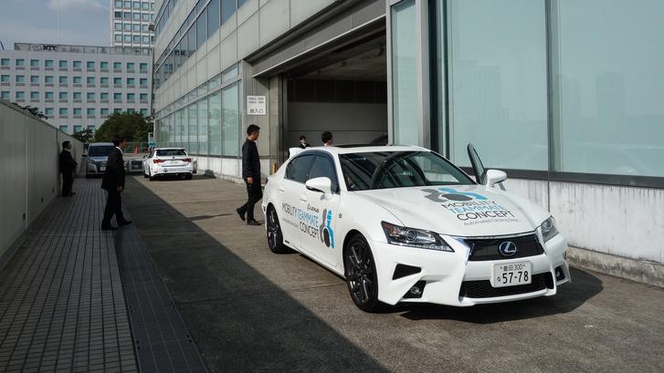 Ez már egy olyan önvezető autó, amelyik közlekedhet a tokiói forgalomban