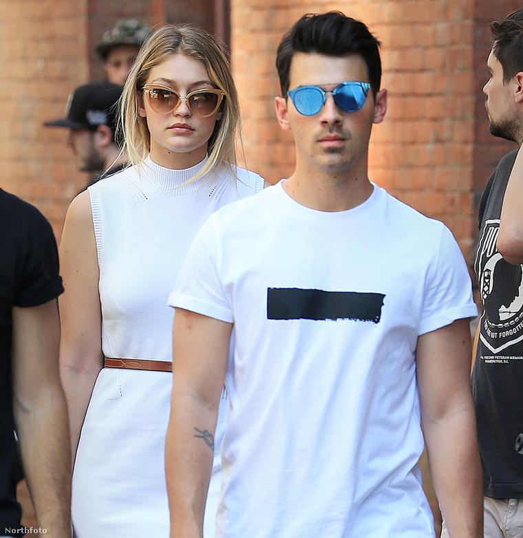 Joe Jonas és Gigi Hadid