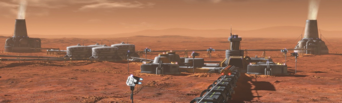 Mars terraforming plant from Mars - Making the New Earth (Nation