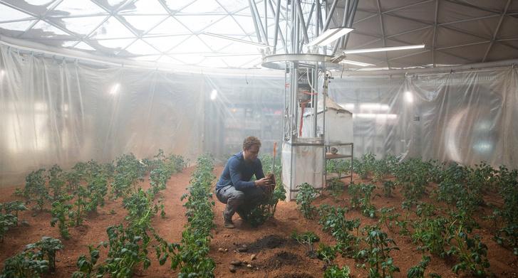 Jelenet Ridley Scott Mars filmjéből
