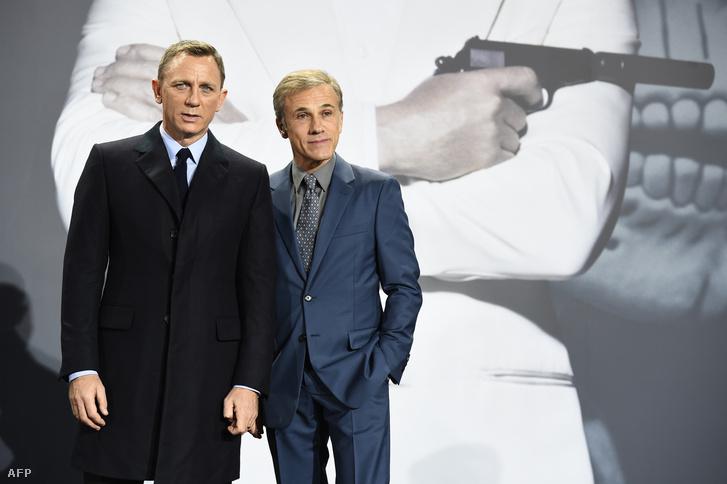Daniel Craig és Christoph Waltz