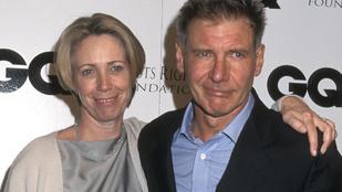 Elhunyt Harrison Ford exneje