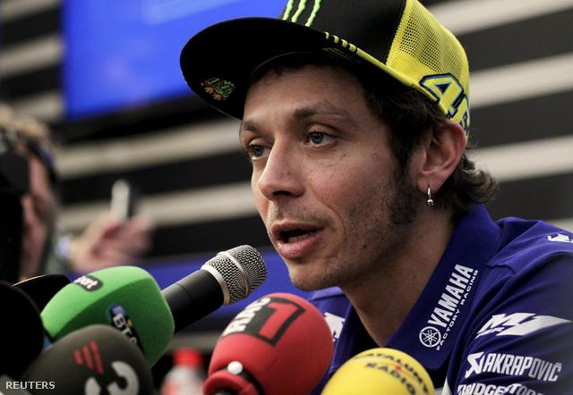 Rossi csütörtök délután Valenciában