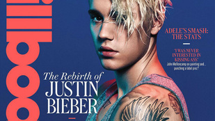 Justin Bieber új címlapja - Na erre mondják, hogy nyálas