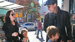 Brad Pitték váratlan dolgot csináltak a gyerekeikkel