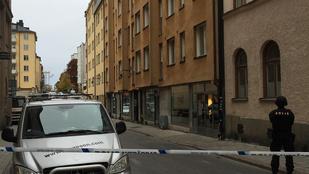 Nagy robbanás rázta meg Stockholm központját