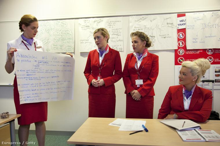 Légiutas-kísérő képzés a Virgin Atlantic légitársaságnál