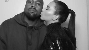 Kanye West szerint Kim Kardashian mindenórás