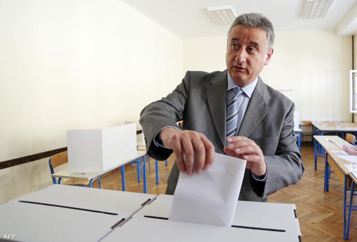 TOmislav Karamarko a HDZ elnöke.