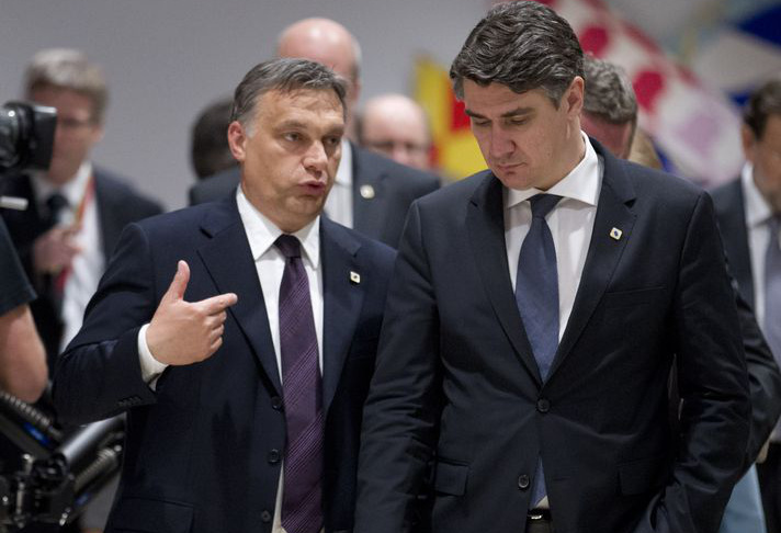 Orbán Viktor és Zoran Milanovic