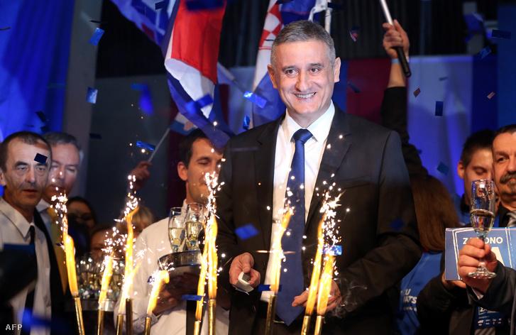 Karamarko ünnepel az első eredmények után vasárnap este