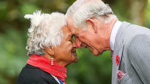 Károly herceg lefejelte ezt a kedves idős hölgyet