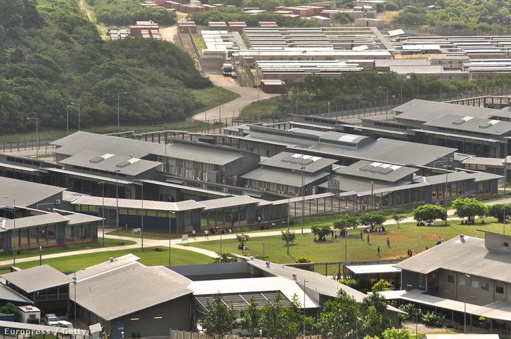 A menekülttábor a Karácsony-szigeten