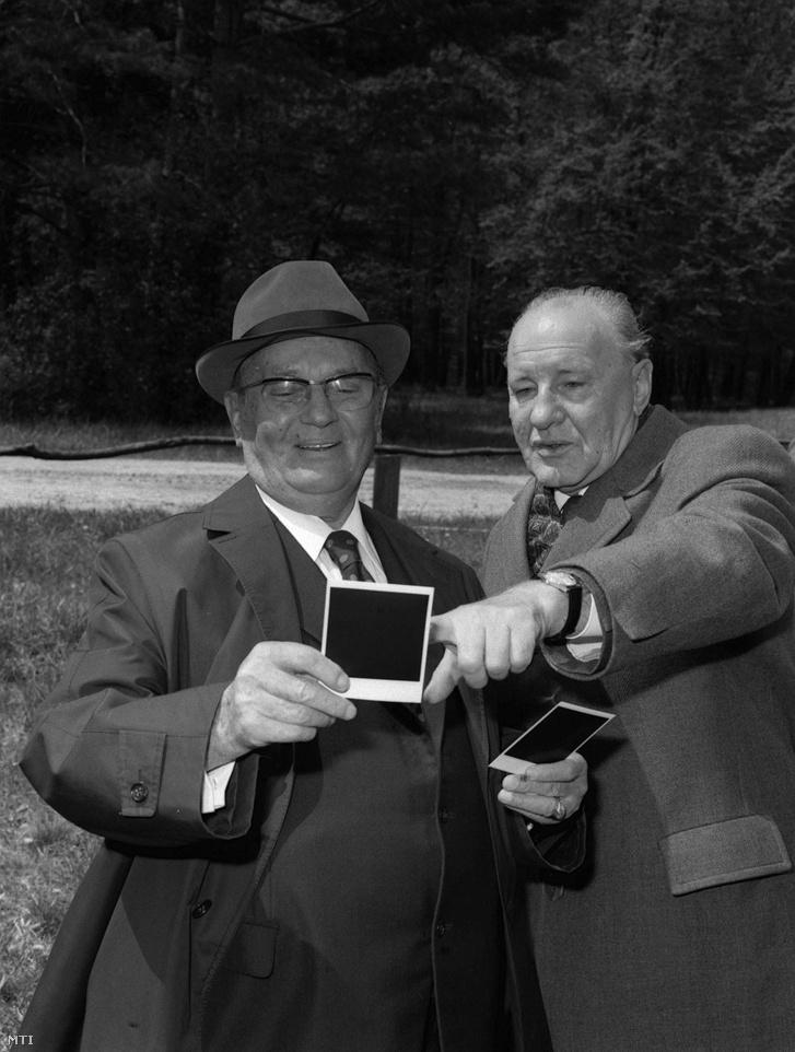 Tito és Kádár 1974-ben