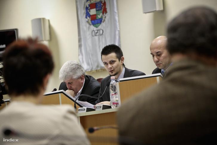Janiczák Dávid az ózdi önkormányzatban