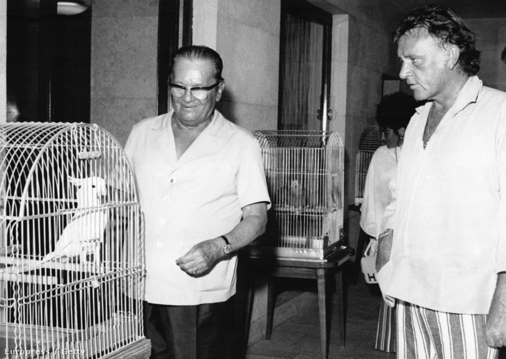 Richard Burton is megfordult Brionin Tito vendégeként