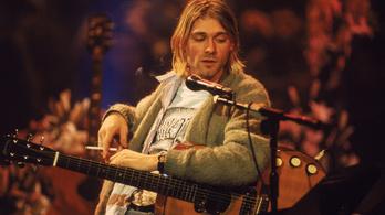 Egymillió dollárért kelhet el Kurt Cobain gitárja