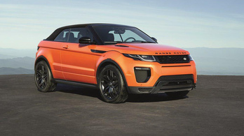 Evoque Convertible: sárnehéz luxus