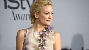 Kate Hudson twerkelni kezdett két interjú között