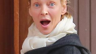 Uma Thurman a lesifotóst szórakoztatja, ha unatkozik