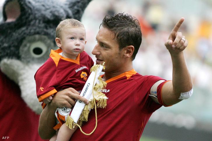 Totti és fia, Cristian
