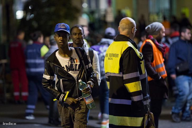 Menekültek Münchenben