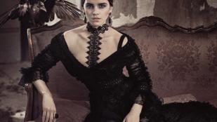 Emma Watson az olasz Vogue-ban szomorkodik