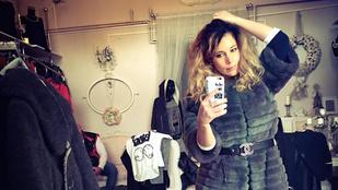 Baukó Évát Chanel-bundával lepte meg udvarlója