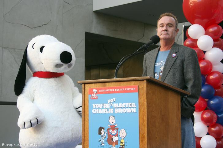 Peter Robbins és Snoopy