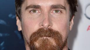 Christian Bale fura szakállt növesztett