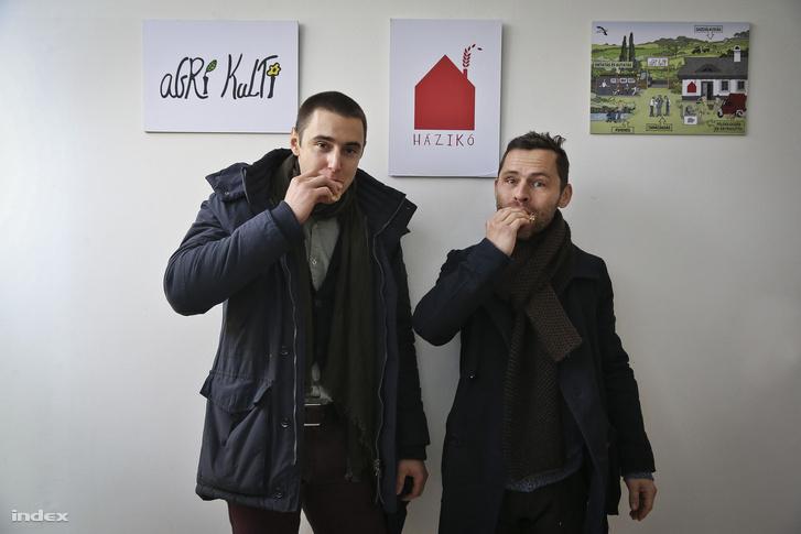 Szalai Mihály ésBertényi Gábor