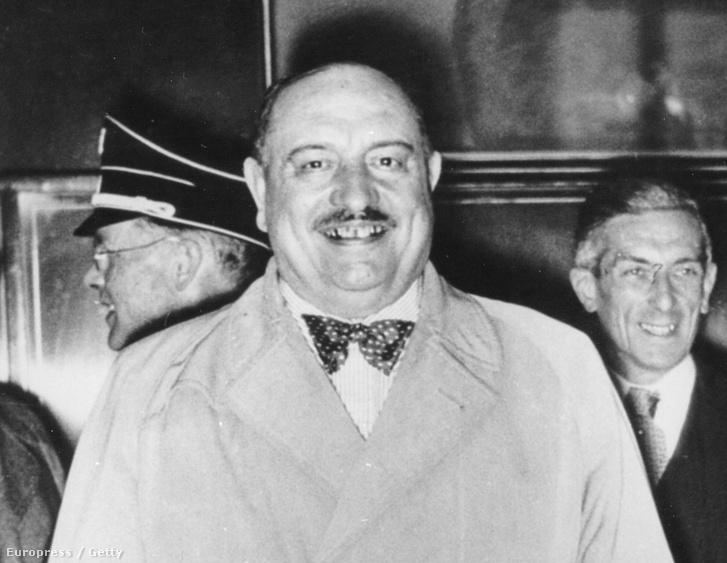 Hóman Bálint egy 1936-os fotón
