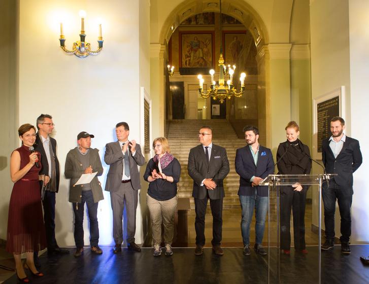 Bakos Piroska, Vitus Weh, Tibor Zsolt, Dr. Ottrubay István, Makai Mira Dalma, Othmar Michl, Rieder Gábor, Niklai Judit és Fenyvesi Áron