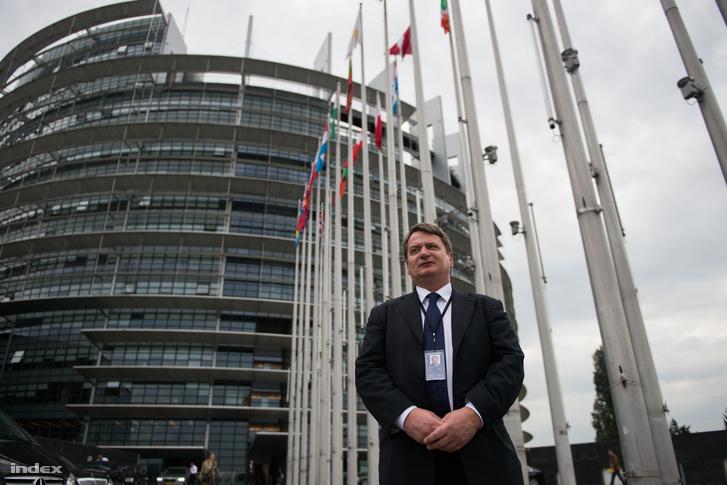 Kovács Béla 2014 szeptemberében, még EP-képviselőként