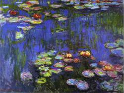 Claude Monet: Tavirózsák (részlet)