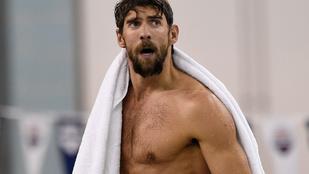 Michael Phelps szőrösebb, mint valaha