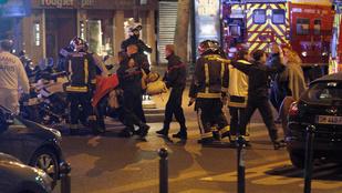 Legalább 127 halálos áldozata van a párizsi terrortámadásoknak